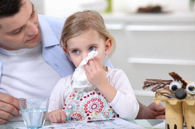 Аллергический кашель у малыша