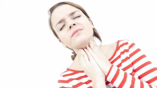 Ангина вызывает боль в горле, которая усиливается при глотании