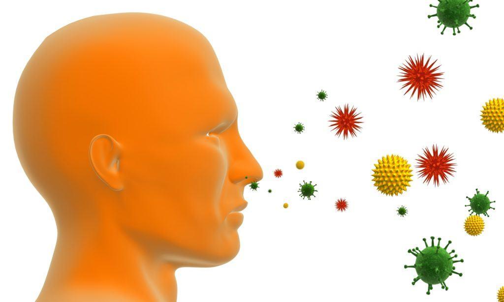 Человека всегда окружает множество вирусов и микробов.