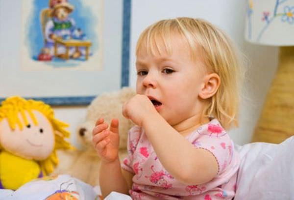 Кашель у ребенка вызван аллергией