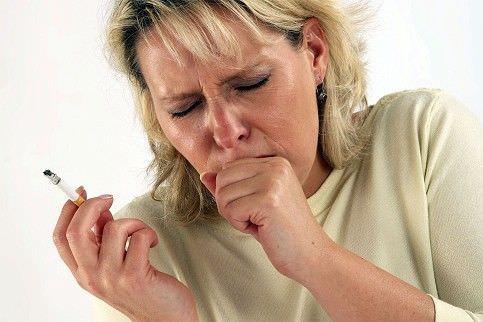 Курение - частая причина кашля