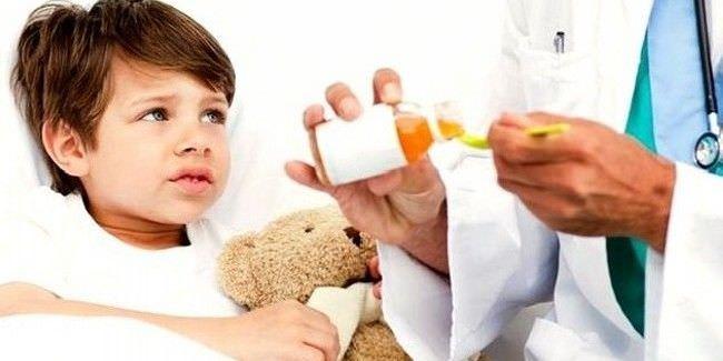 Медицинская помощь ребенку при сухом кашле