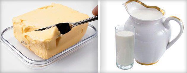 Молоко и масло – лечит кашель
