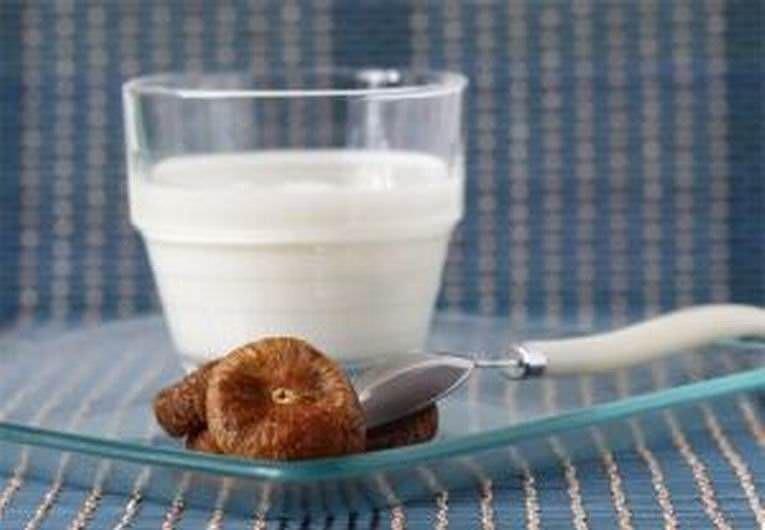Молоко с финиками для лечения кашля