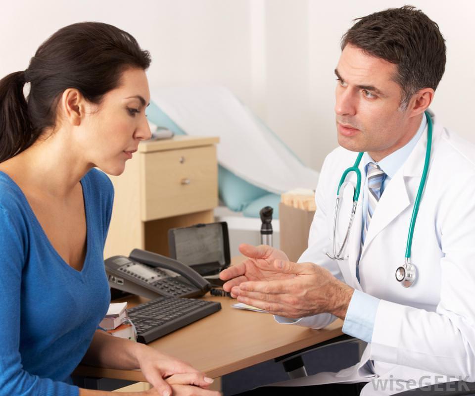 На приеме у врача пульмонолога