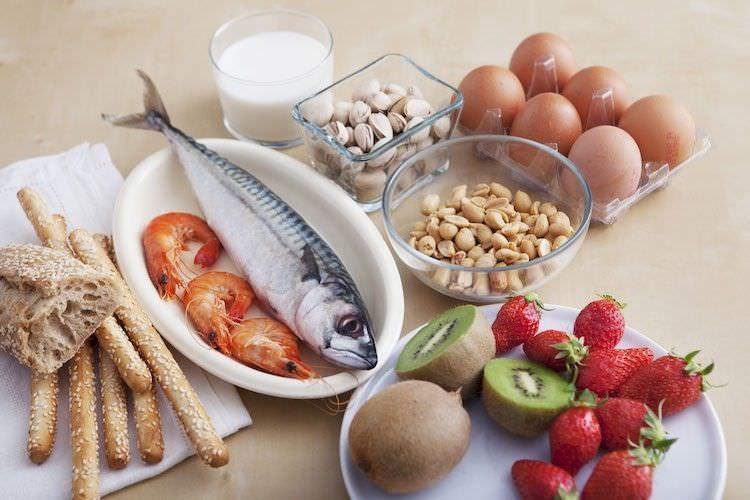 Распространенные пищевые аллергены