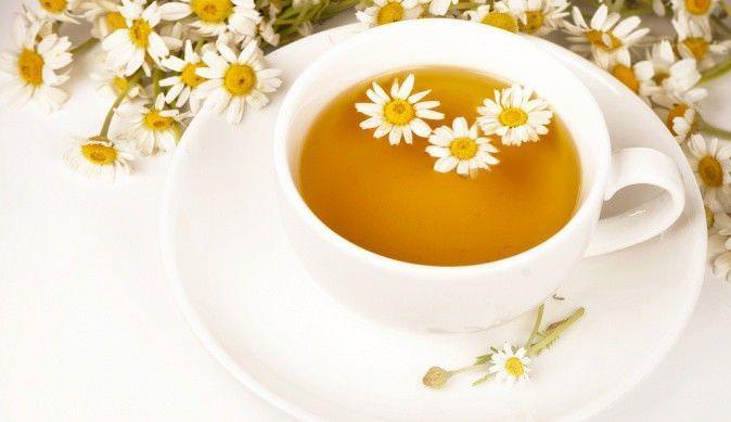 Ромашковый чай - народное средство для лечения кашля