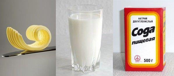 Сода и молоко для лечения кашля