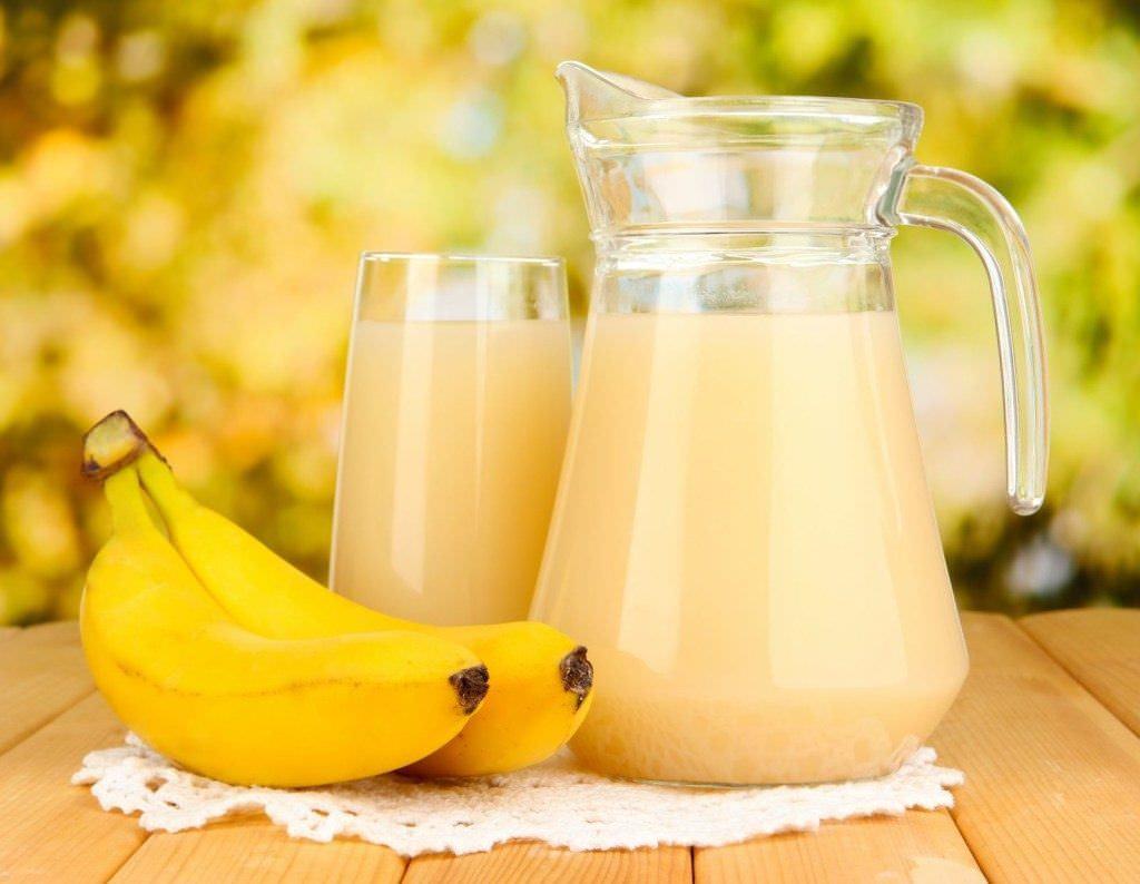 Банановый коктейль – вкусно и полезно