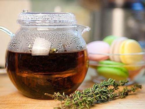 Чай из чабреца не только полезный, но и вкусный