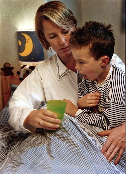 Что делать, если ребенок кашляет до рвоты