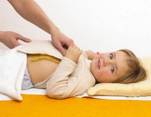 Детям горчичники ставят не более чем на 5 минут