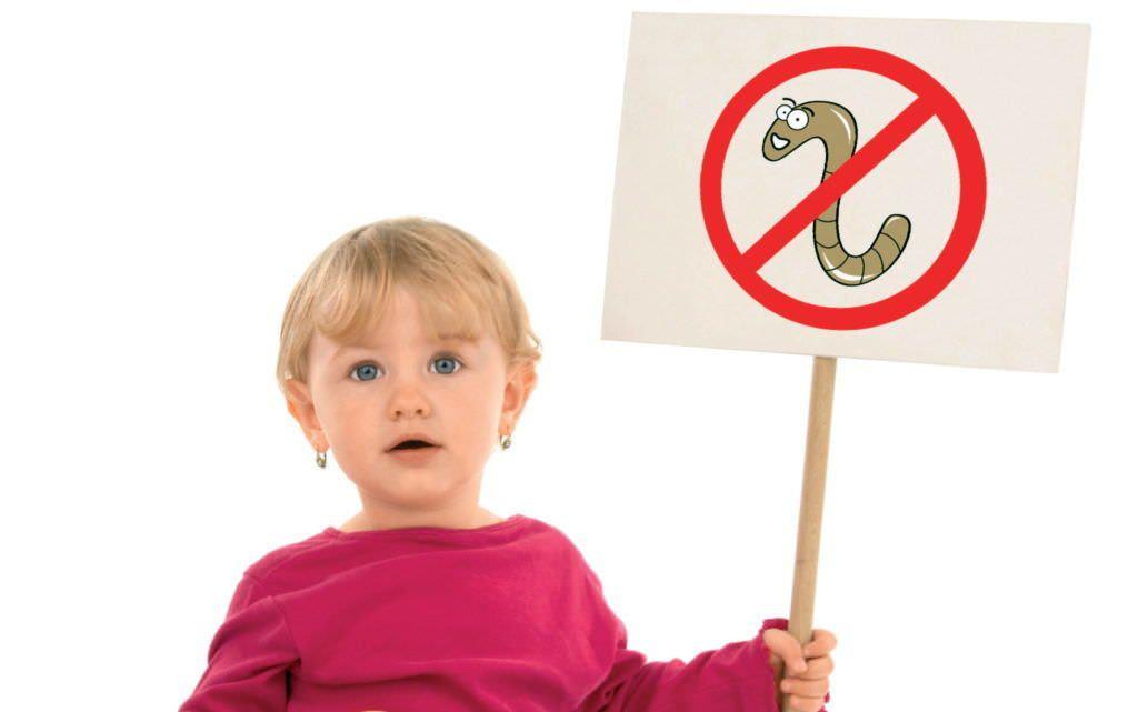 Гельминты – угроза для здоровья малыша!