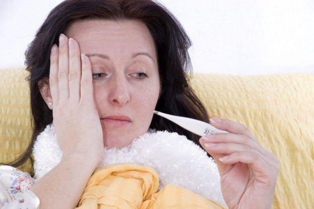 Головная боль и температура при кашле – явный признак инфекции