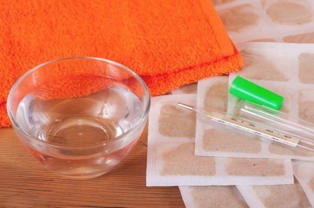 Горчичники – всем известное средство для борьбы с сухим кашлем