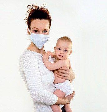 Кашель – симптом различных болезней, которые могут быть опасны для младенцев!