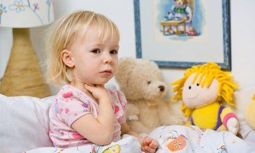 Кашель ночью у ребенка – причины аллергического типа