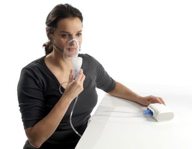 Кормящей маме от кашля поможет ингалятор