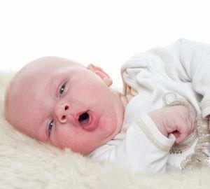 Лечение кашля с мокротой у грудничка