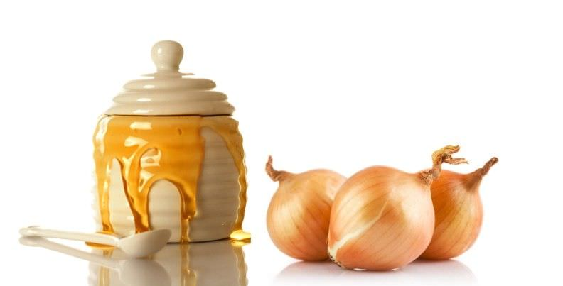 Лук с медом – отличное средство в борьбе с простудными заболеваниями