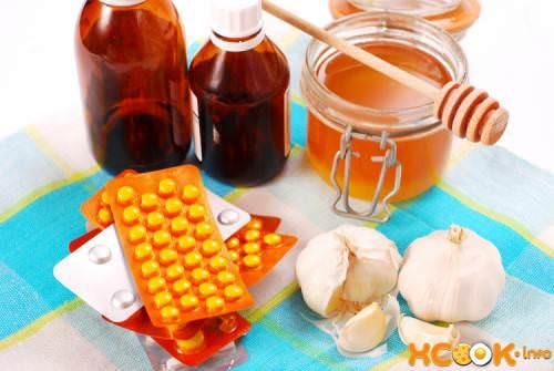 На фото альтернатива лечению таблетками - редька с медом