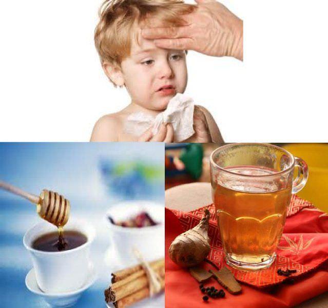 Народные рецепты при лечении кашля у детей