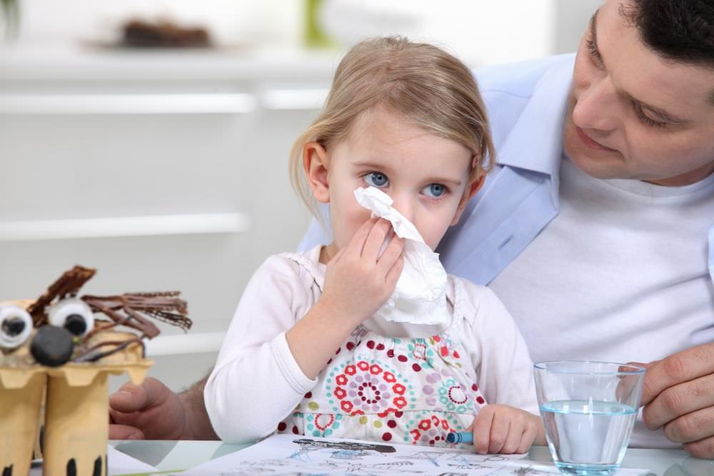 Насморк без температуры у ребенка