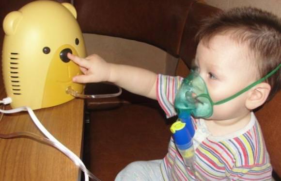 Небулайзер, чтобы устранить сухой кашель у ребенка 1 год