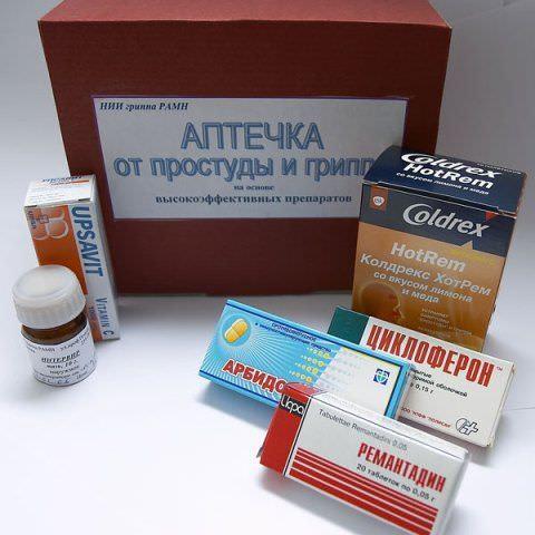 Некоторые противовирусные препараты для лечения