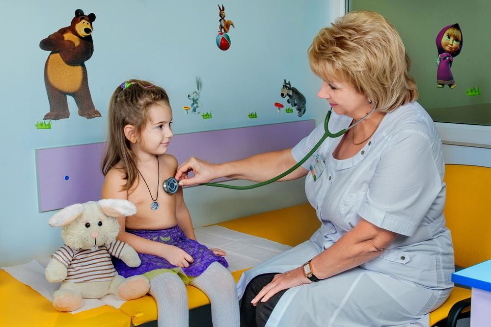 Обследование ребенка при кашле