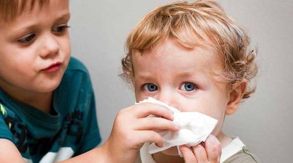 ОРВИ – частая причина насморка у детей
