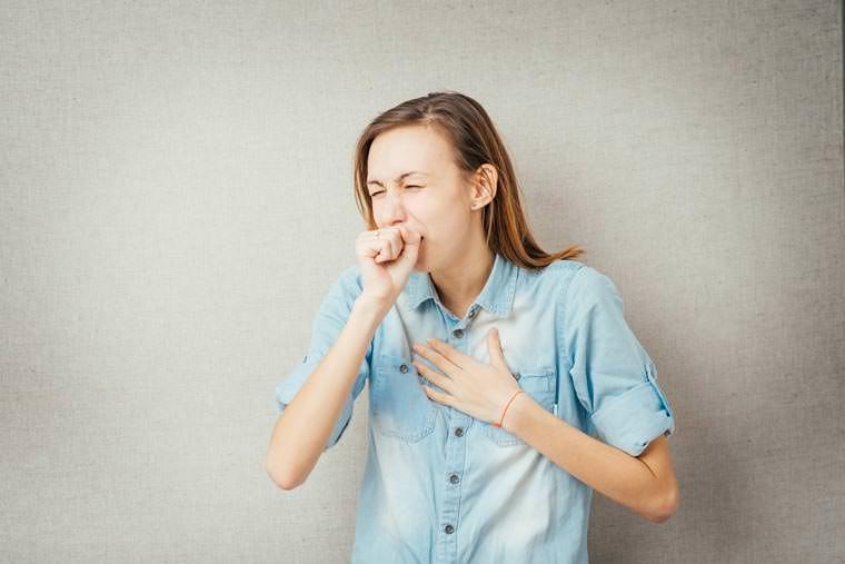 От кашля сильно болит горло