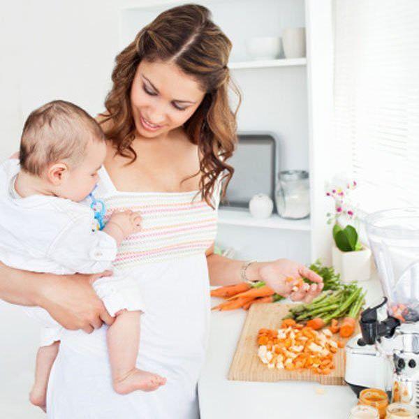 Правильное питание матери при лактации – залог качественного грудного молока.