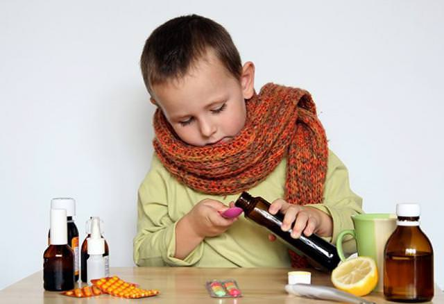 Препараты от сухого кашля ребенку 2 года