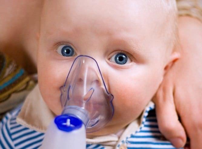 Применение небулайзера для лечения свистящего кашля.