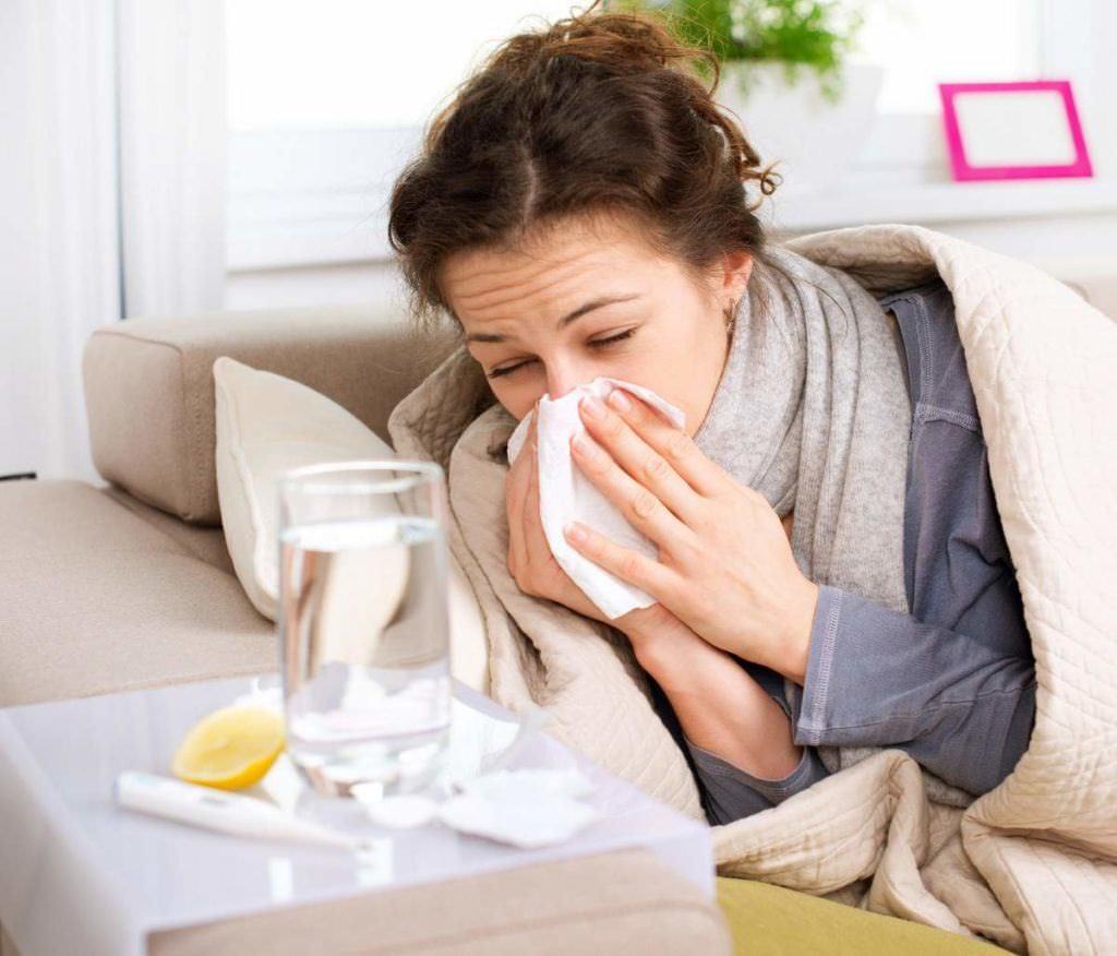 Простуда у беременных.