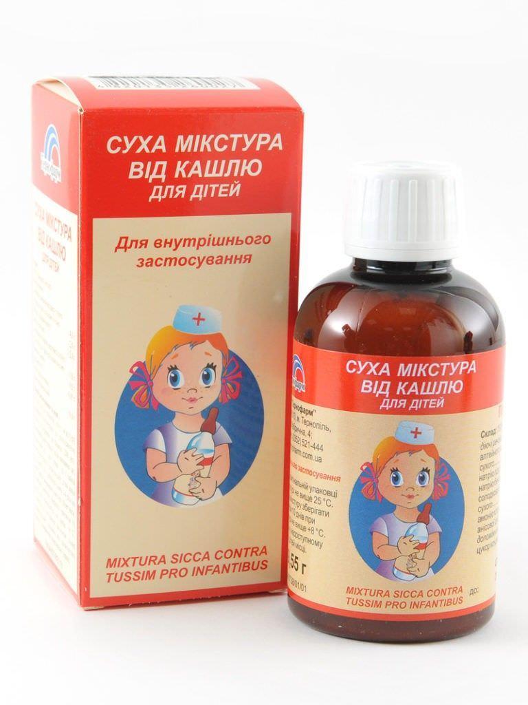 Растительный препарат от кашля
