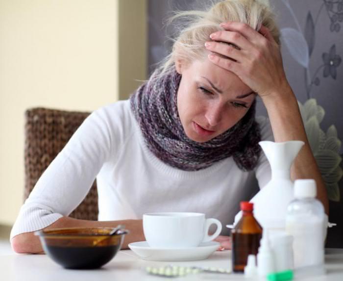 Разбитость и головные боли при кашле