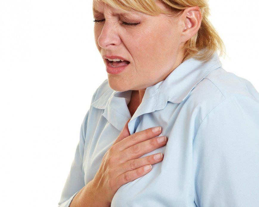 Сильная боль за грудиной при сухом кашле должна вызвать серьезные опасения у больного и его родных.