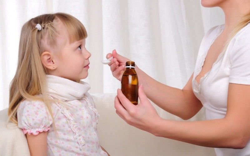 Сироп - удобная лекарственная форма для терапии кашля у детей
