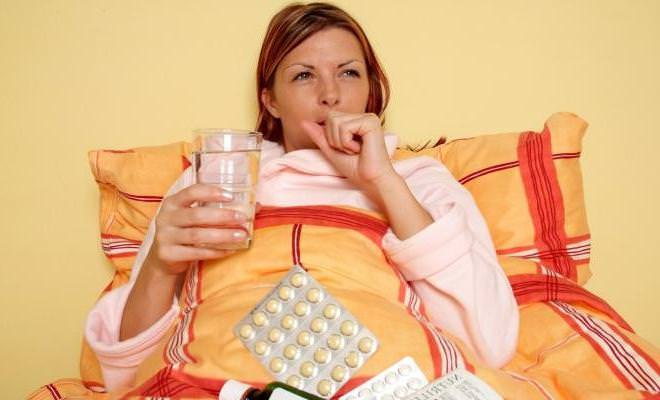 Сухой кашель при беременности