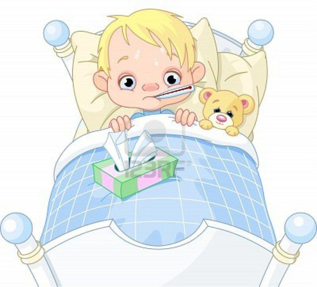 Типичный вид болеющего ребенка.