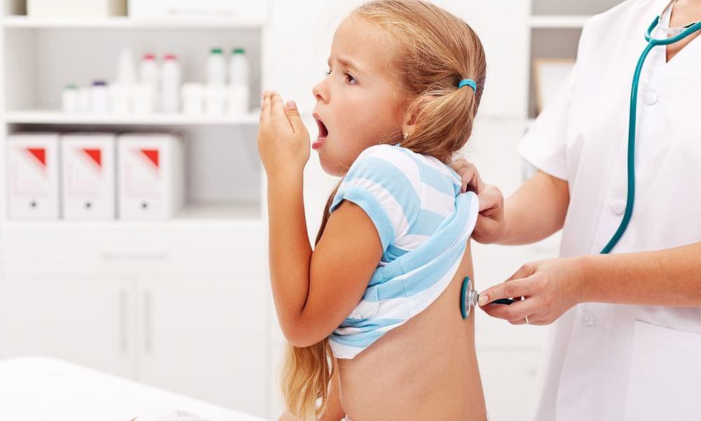 У ребенка сухой кашель