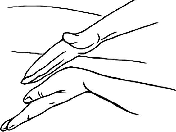 Вибрационный массаж – одно из эффективных упражнений, позволяющее вывести мокроту и освободить дыхательные пути.