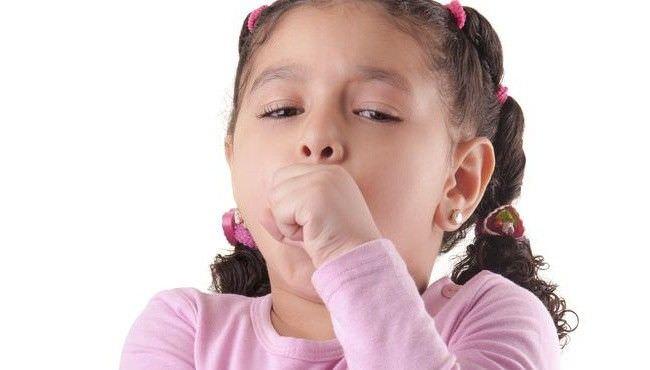 Фото: кашель у ребёнка.