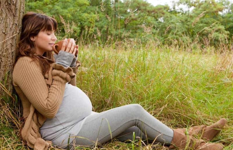 Сильный кашель во время беременности можно вылечить и травами