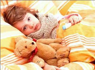 Сухой кашель мешает ребенку спать