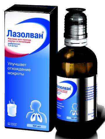 Аптечные препараты от кашля в виде сиропа
