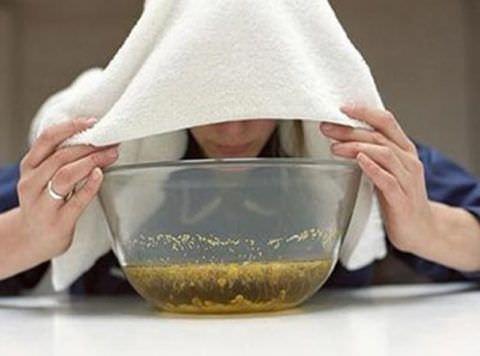 Проведение ингаляций для лечения кашля