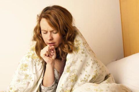 Как уснуть, если мучает кашель?